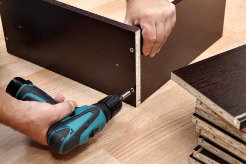 how to build a wall mounted ironing board
